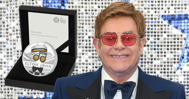 elton john and his new coin