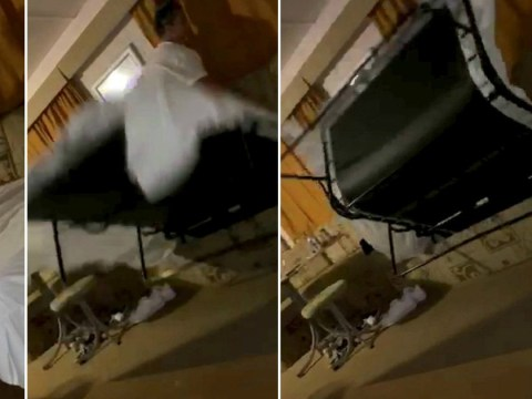 Woman gets swallowed by sofa bed as she attempts to change the sheets