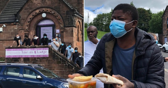 'Malnourished' refugees in Glasgow given food 'not fit for human consumption'