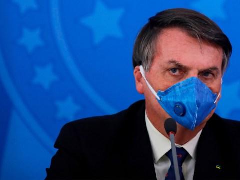 Brazil president tests positive for coronavirus after calling it 'little flu'