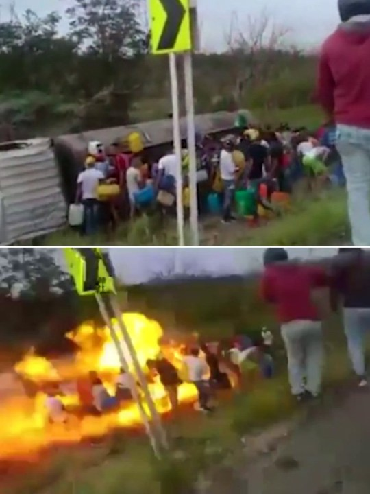 Fuel tanker explosion leaves seven dead and more than 40 injured