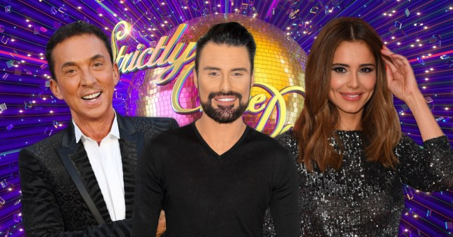 Rylan Clark-Neal, Bruno Tonioli, Chery, Strictly Come Dancing