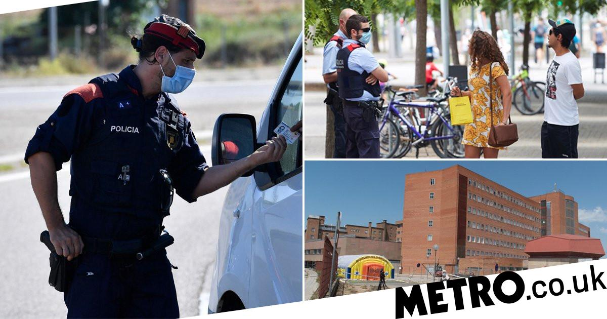 Spanish city becomes first in country go back into draconian-style lockdown - metro
