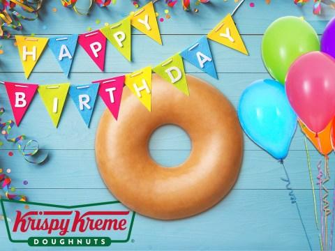 Krispy Kreme gives free doughnuts to everyone who had a lockdown birthday