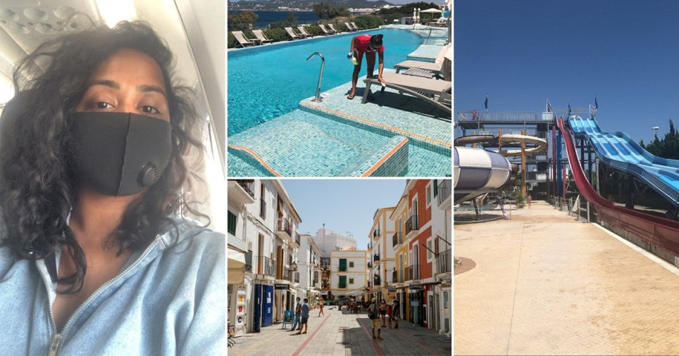 A weekend trip to Ibiza post lockdown