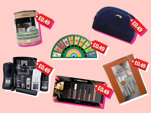 Superdrug's 49p sale is on, saving you hundreds on beauty and grooming gift sets