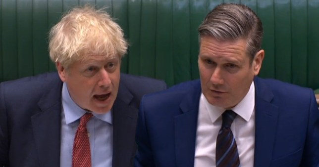 The two politicians clashed at PMQs today