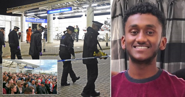 Talented athlete stabbed to death 'over a look across Tube tracks'