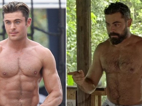 Zac Efron's manly abs divide internet once again as people slam 'dad bod' label