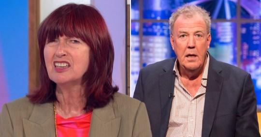 Janet Street-Porter and Jeremy Clarkson