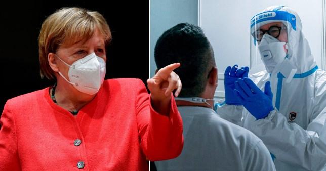 Angela Merkel, alliée senior, affirme que l'Allemagne connaît déjà une deuxième vague de coronavirus alors que les tests s'intensifient à Düsseldorf