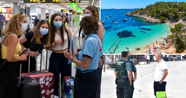 British travellers have been hit by new travel advice
