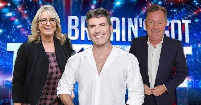 Bgt Original Judges Why Piers Morgan Was Cast With Fern Britton Metro News