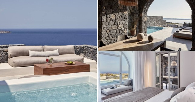 Canaves Oia Epitome resort in Santorini