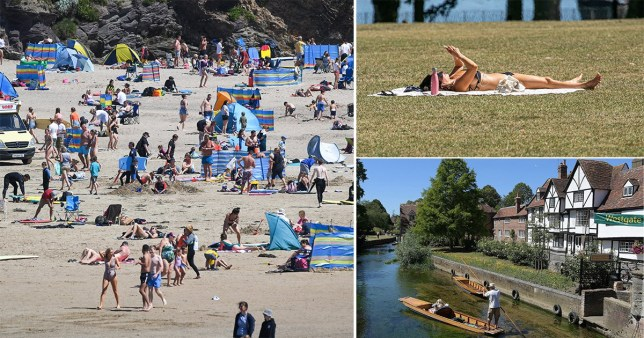 Hottest day of the year predicted tomorrow with temperatures hitting 35C