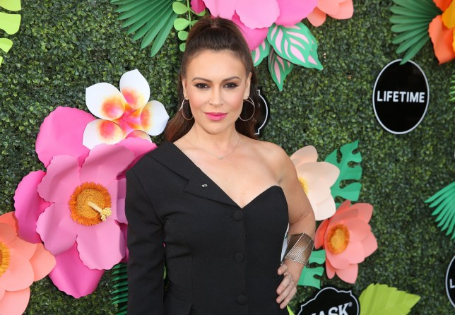 LOS ANGELES, CALIFORNIA - MAY 20: Alyssa Milano attends the Lifetime Summer Luau on May 20, 2019 in Los Angeles, California. (Photo by Jesse Grant/Getty Images for Lifetime)