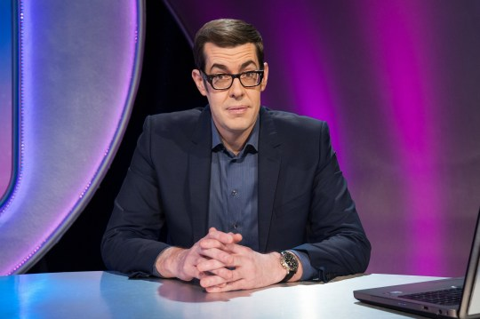 Television Programme: Pointless Celebrities with Richard Osman - TX: n/a - Episode: n/a (No. n/a) - Picture Shows: Richard Osman - (C) Remarkable Television, an Endemol UK company - Photographer: Drew Gardner