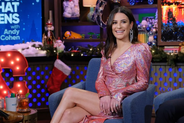 WATCH WHAT HAPPENS LIVE WITH ANDY COHEN -- Episode 16208 -- Pictured: Lea Michele -- (Photo by: Charles Sykes/Bravo/NBCU Photo Bank via Getty Images)