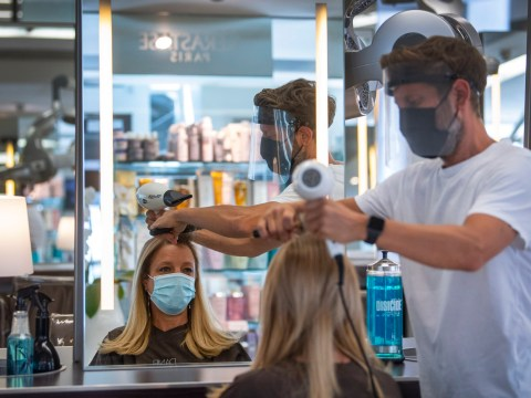 When can beauty salons reopen as hairdressers open their doors for July 4?