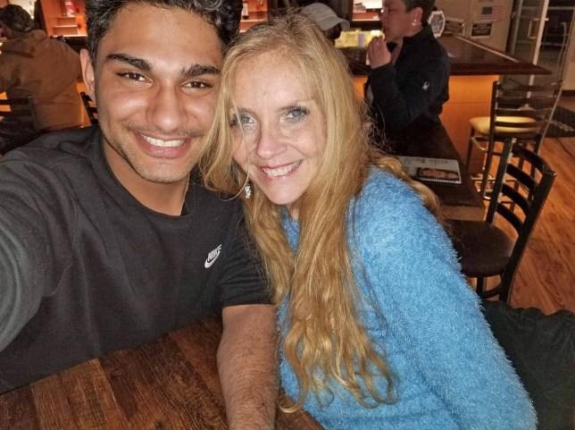 Woman, 60, with boyfriend, 21