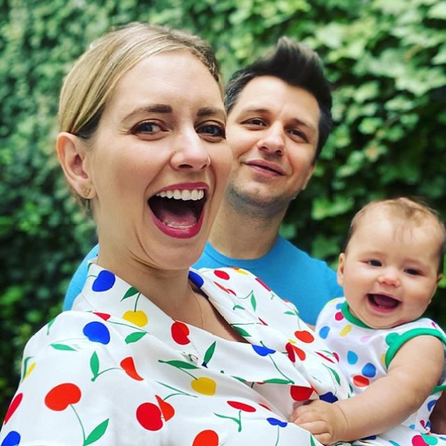 rachel riley Verified One year later! Celebrating today with our extra smiler in the family. Love these two What a first year it?s been! ?? #firstweddinganniversary #twinning