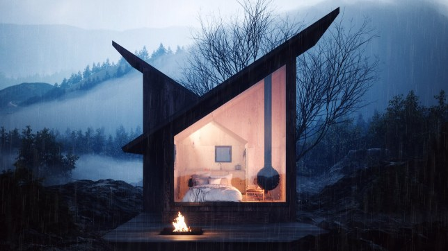 Tiny cabin that can be set up anywhere. The Mountain Refuge is a young tiny-house startup founded by the two Italian architects Massimo Gnocchi and Paolo Danesi. Our main goal is to be able to deliver the Refuge around the world at competitive prices, that's why we are currently discussing partnerships with prefab construction companies.