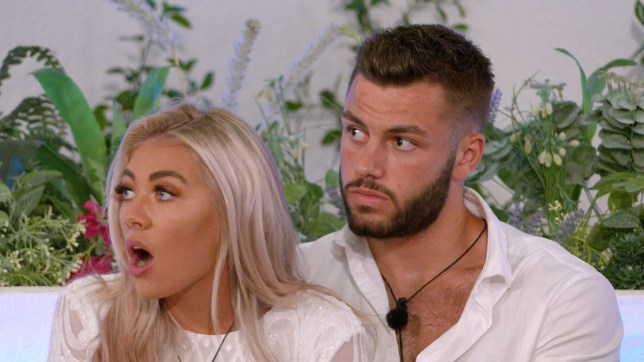 Love Island winners Paige Turley and Finn