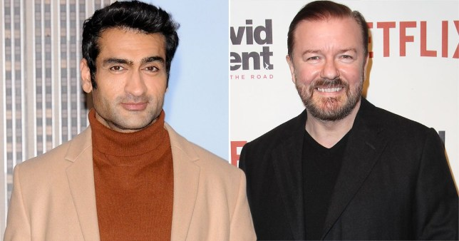 Kumail Nanjiani asks Ricky Gervais if his comedy normalises 'harmful ideas'
