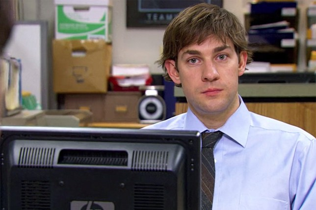 John Krasinski wore a wig in The Office season 3
