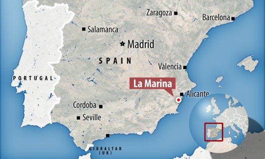 La Marina is headed back into lockdown