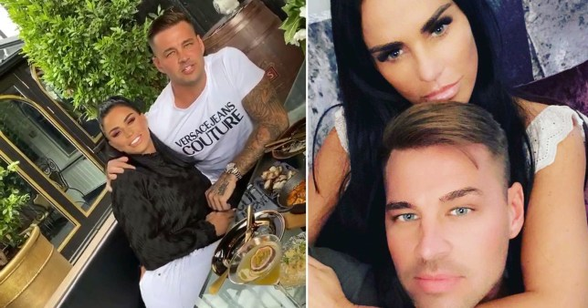 Katie Price pictured with new boyfriend Carl Wood