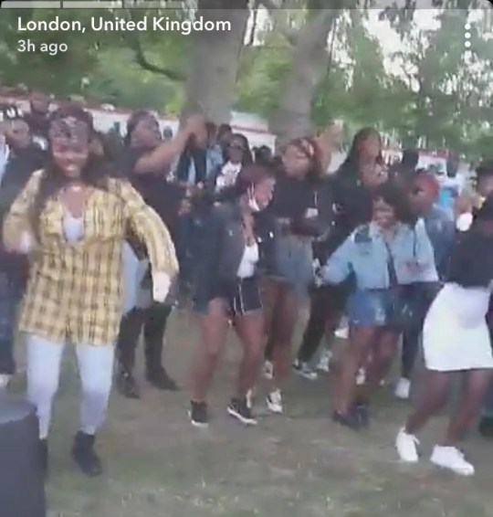 uncleared grabs illegal rave hackney