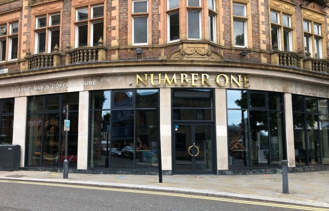 The Number One bar in Darlington which was temporarily shut on Saturday by police