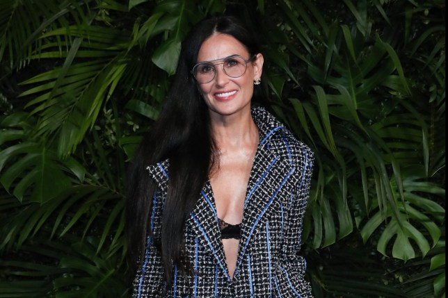 Mandatory Credit: Photo by Matt Baron/REX (10551942cr) Demi Moore Charles Finch and Chanel Pre-Oscars Dinner, Arrivals, Polo Lounge, Los Angeles, USA - 08 Feb 2020