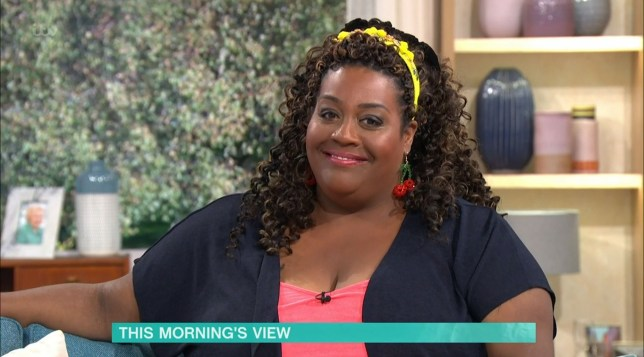 Mandatory Credit: Photo by ITV/REX (10707403ap) Alison Hammond 'This Morning' TV show, London, UK - 10 Jul 2020