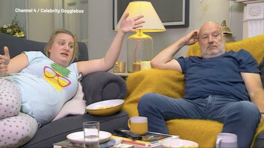 Celebrity Gogglebox: Daisy May Cooper's dad calls star out