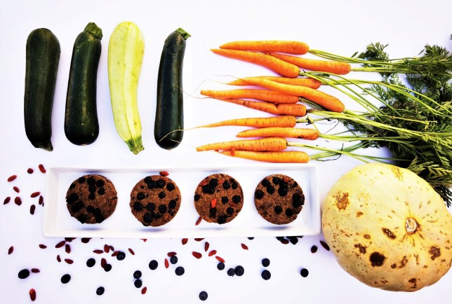the ingredients which make up the five-a-day cookies