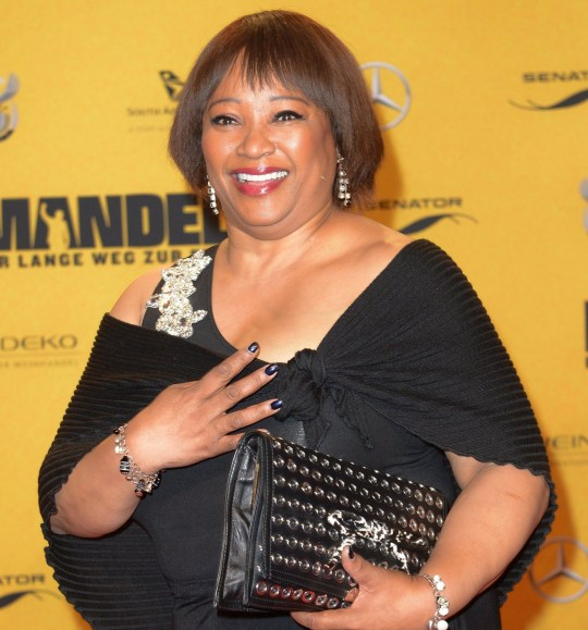 Mandatory Credit: Photo by Britta Pedersen/EPA/REX (8223342i) Daughter of Late Nelson Mandela Zindzi Mandela Arrives For the Premiere of 'Mandela : Long Walk to Freedom' Held at the Zoo Palast Theater in Berlin Germany 28 January 2013 the Movie Will Be Released in German Theaters on 30 January Germany Berlin Germany Cinema - Jan 2014