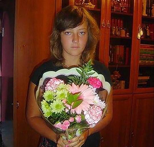 Alexandra Erokhova à l'adolescence