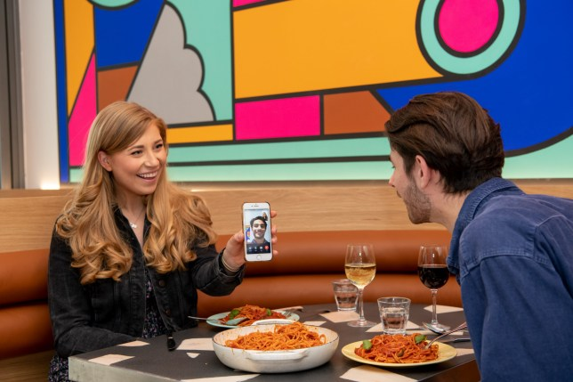 Face time to Date time: Westfield shopping centres are bringing together newfound lovers who met virtually in lockdown, by allowing them to trade in screenshots of their virtual dates for free IRL versions at restaurants across the centres