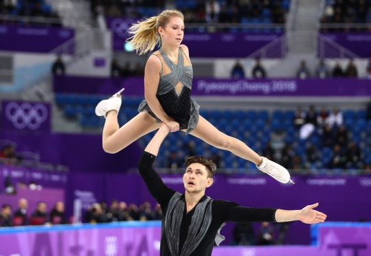 FILE - JULY 18: Figure skater Ekaterina Alexandrovskaya, who competed for Australia in the 2018 Olympics, has died in Moscow, Russia. She was 20 years old. GANGNEUNG, SOUTH KOREA - FEBRUARY 14: Ekaterina Alexandrovskaya and Harley Windsor of Australia compete during the Pair Skating Short Program on day five of the PyeongChang 2018 Winter Olympics at Gangneung Ice Arena on February 14, 2018 in Gangneung, South Korea. (Photo by Dean Mouhtaropoulos/Getty Images)
