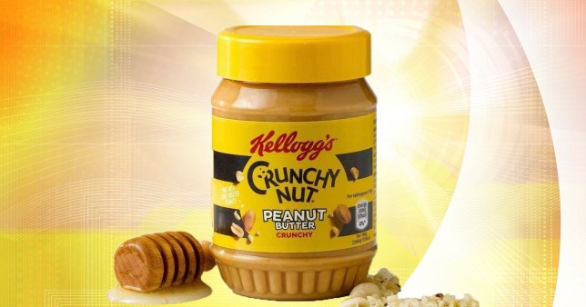 Kellogg's launches crunchy nut peanut butter spread