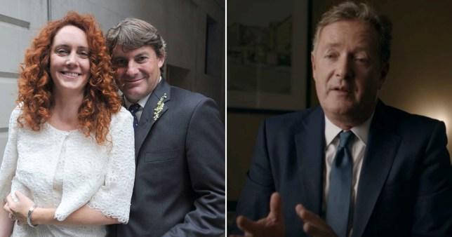 Piers Morgan's chilling account of Rebekah Brooke's wedding