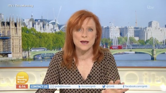 Dr Sarah Jarvis on Good Morning Britain