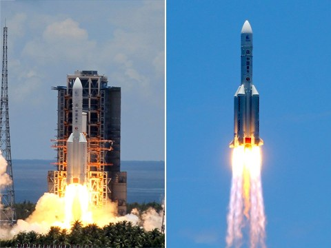 China launches rocket in an ambitious mission to find life on Mars