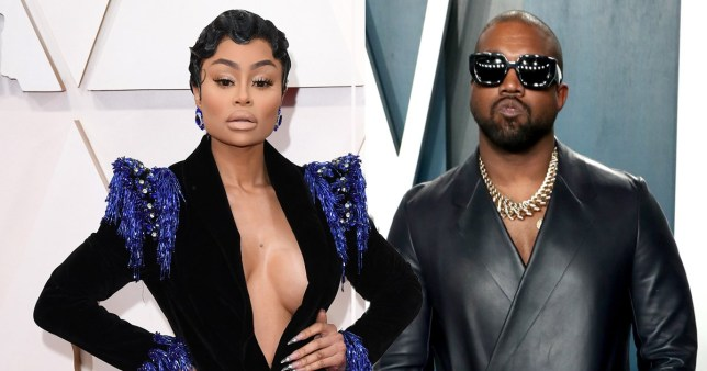 Blac Chyna shows support for 'Dream's Uncle Kanye West'