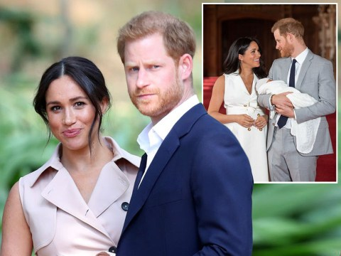 Meghan and Harry sue over 'drone' photos of baby son Archie at their home