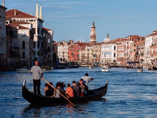Un gondolier de Venise