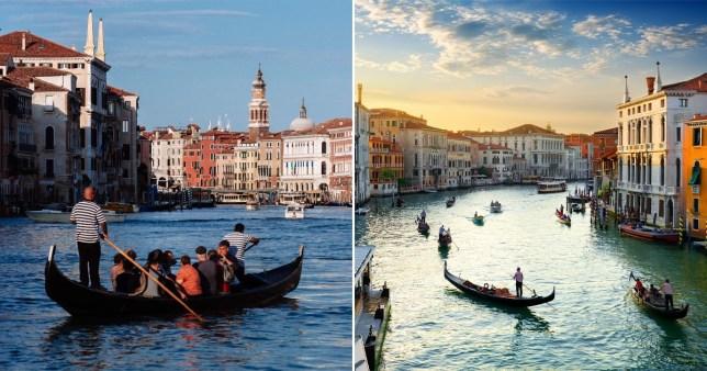 Venise limite le nombre de touristes autorisés sur les gondoles car elles deviennent trop grosses Images: Getty