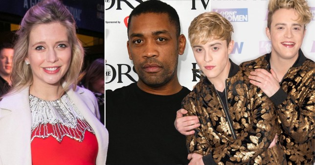 Jedward are upset with Rachel Riley